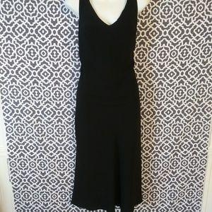 AGB Black Long Sleeveless Formal Dress size 6